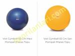 Voit Gymball 65 Cm Pompalı Pilates Topu
